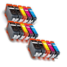 15 PK Ink Cartridges Combo + LED chip for 225 226 Pixma MG5120 MG5220 MG5320
