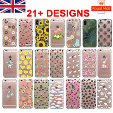 UK Soft Silicone Phone Case For IPHONE 11 PRO 6/7/X SAMSUNG S9/10 HUAWEI P20 PRO