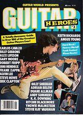 GUITAR HEROES MAGAZINE -VINTAGE MUSIC MAGAZINE-# 1-EDIE VAN HALEN COVER