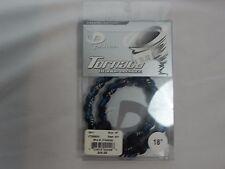 "New Phiten Tornado Titanium Necklace 18"" / 45cm Blue & Black"