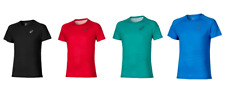 Asics Men's Lite-Show T-Shirt Short Sleeve Reflective Training T-Shirts - New