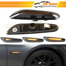 Flowing Dynamic Side Marker Lamp Amber LED For BMW E60 E61 E81 E90 E92 E60 E87