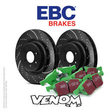 EBC Front & Rear Brake Discs & Pad for Ford Focus Mk3 1.5TD - markreed077