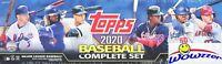 2020 Topps Baseball 705 Cards MASSIVE Retail Factory Set-2 Luis Roberts,Bichette