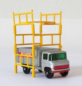 Vintage Lesney Matchbox #11 Scaffolding Truck Regular Wheels 1969