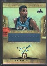 MALCOLM LEE 2012/13 PANINI GOLD STANDARD #279 RC ROOKIE AUTOGRAPH JERSEY $15