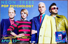 NEON TREES Pop Psychology Ltd Ed Discontinued RARE Poster +FREE Rock Pop Poster!