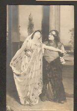 """ARTISTE Theatre / Mlle SARAH BERNHARDT sur Scéne dans """"PHEDRE"""" en 1904"""