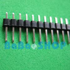 10pcs 40 Pin 2.54 mm Single Row Male Pin Header Strip PCB New