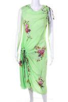 Preen By Thornton Bregazzi Womens Preen Line Aida Dress Green Size Extra Small