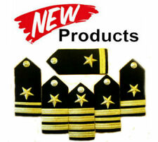 NEW US NAVY HARD SHOULDER BOARDS ALL LINE OFFICERS RANKS Hi QUALITY CP MADE PAIR