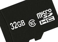 32 GB MICROSD HC CLASSE 10 carta di memoria per SONY XPERIA Z3, Z3 COMPACT