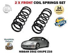 pour Nissan 350z Z33 COUPÉ 3.5 2002> NEUF 2 x AVANT BOBINE Jeu de ressorts