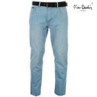 Mens Pierre Cardin stylish Denim Jeans Regular fit Light Wash Waist 32 Length L