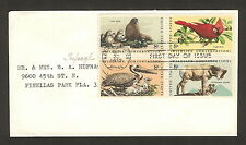 """US Stamps - Scotts 1467a, 8c """"Wildlife Conservation"""" FDC"""