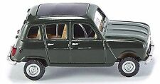 WIKING HO scale ~ RENAULT R4 ~ FULLY ASSEMBLED in GREEN!
