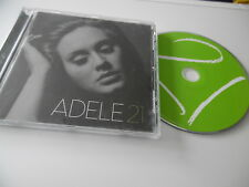 ADELE 21 ORIGINAL CD ALBUM SOMEONE LIKE YOU SET FIRE TO THE RAIN ROLLING IN DEEP