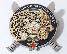 Brevet Commando CHEF DE SECTION FORET du 3°REI LÉGION ÉTRANGÈRE  / Guyane