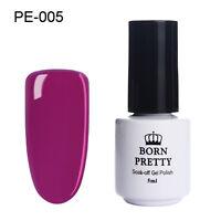 Born Pretty Gellack UV LED Soak off Gel Nagellack Lila Farbgel DIY #005