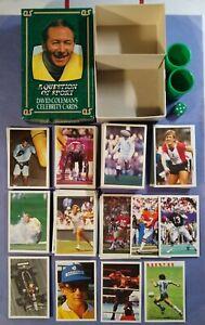 1986 A Question of Sport 238 Celebrity Cards Set Mike Tyson, Senna, Maradona +++