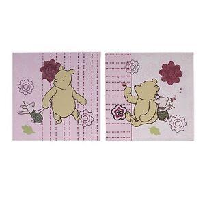 Disney Classic Pooh 2-Piece Decorative Canvas Art Pictures Dandelion Dreamer NEW