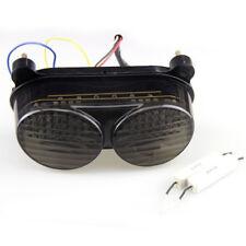 Smoke Tail Light Signals For Kawasaki Ninja ZX6R 98-02 ZX-9R 98-05 ZZR600 05-08