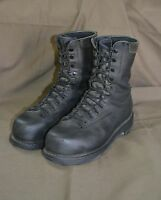 Used Canadian military combat boots size 260/98 (approx,8 ) Steel Toe  (z30)