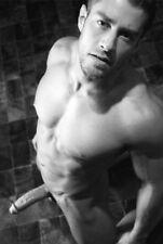 Foto Erotik Mann Art Akt Male Nude Gay Interest FKK Fotokunst s/w -4