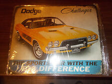 Dodge Challenger Tin Sign - Reproduction