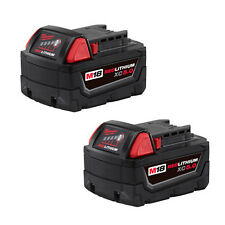 Milwaukee 48-11-1850  M18 2 pack REDLITHIUM 5.0 Ah Extended Capacity Battery
