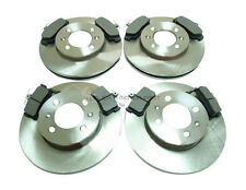 MGF MG-F 1.8 16V VVC 1995-2001 FRONT & REAR BRAKE DISCS AND PADS SET NEW