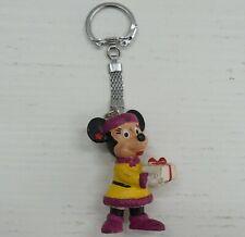 Portachiavi Key holder Topolina Minnie Mouse 5 cm Disney Bullyland