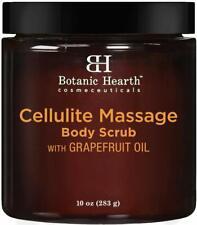 Cellulite Massage Body Scrub Grapefruit + Coconut Essential Oil Exfoliate Renew