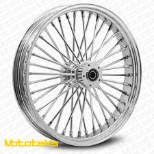 FAT SPOKE WHEEL 21X2.15 FOR HARLEY SOFTAIL FXST NIGHT TRAIN WIDE GLIDE CUSTOM