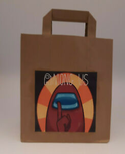 AMONG US Themed Pre Filled Party Bags Ready Made Goody Loot Bags