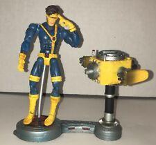 "Marvel Legends X-Men Cyclops Toybiz Figure 6"" Figure w/ Base Stand Optic Blast"