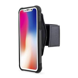 Detachable Cover for iPhone X & Xs Armband Holder BUNDLE for Running & Jogging