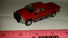 1/64 CUSTOM 2014 dodge red 2500 cummins decked out pickup truck ERTL farm toy