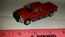 1/64 CUSTOM 2014 dodge red 2500 cummins decked out pickup truck ERTL farm toy