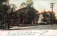 Court House and County Jail, Jersey City, New Jersey, Early Postcard, Used