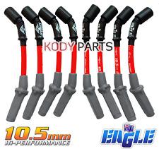 RED EAGLE IGNITION LEADS 10.5mm -for Holden & HSV 6.0L V8 LS2 Gen4 & 6.2L LS3