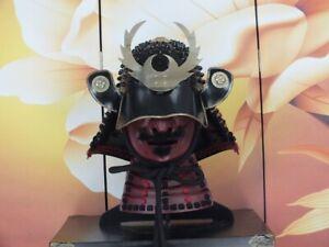 Wearable Japanese Samurai Armor Yoroi Helmet Kabuto Menpo Mask Handmade Iron