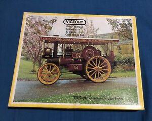 Vintage Victory Wooden Puzzle 80 Pcs Complete Garrett Showmans Traction Engine