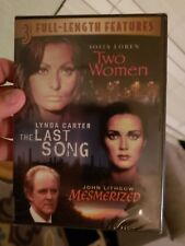 Two Women/ The Last Song/ Mesmerized (DVD) factory sealed new