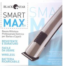 BLACK STAR SMART MAX MOD.777 RASOIO PROFESSIONALE BARBA CAPELLI RICARICABILE