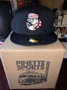 Greeneville Reds New Era BP 59Fifty Cap Hat Size 7 3/8 Cincinnati Mr. Redlegs
