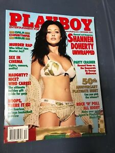 Playboy Magazine December 2003 Shannen Doherty Unwrapped