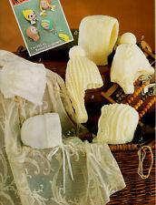 Baby Bonnets & Helmets Balaclava in DK & 4Ply  Knitting Pattern