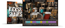 Toontrack Kicks & Snares EZX - EzDrummer 2 Expansion Serial - Digital Delivery