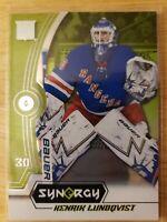 2018-19 Upper Deck Synergy GREEN PARALLEL Henrik Lundqvist New York Rangers #21